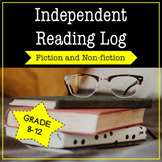 Independent Reading Log and Report For Fiction and Nonfict