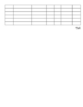 Independent Reading Log and Rubric