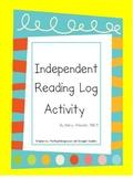 Independent Reading Log for Beginning Readers
