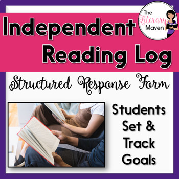 Independent Reading Log with Reading Responses