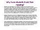 Independent Reading Logs Set 2