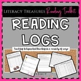 Independent Reading Logs for Tracking Independent Reading