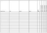 Independent Reading Logs - Teacher Checklist - PDF VERSION