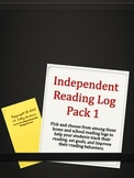 Independent Reading Logs Set 1