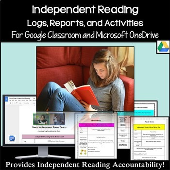 Independent Reading Logs and Reading Activities Designed for Google Classroom