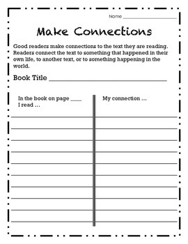 Independent Reading: Make Connections