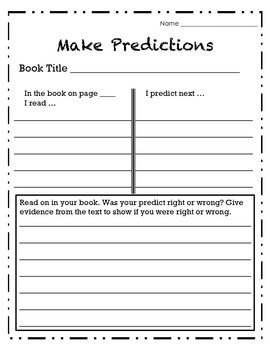 Independent Reading: Make Predictions
