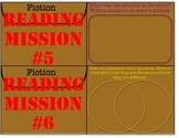 Independent Reading Mission Cards