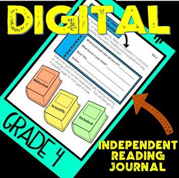Independent Reading Notebook.. DIGITAL!!