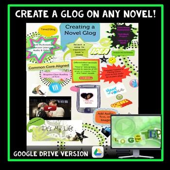 Independent Reading: Novel Study Project - Creating a Glog Based on ANY Novel