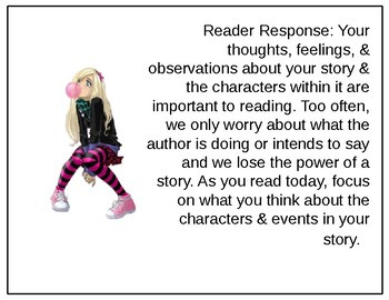 Independent Reading Pre-Reading Focus Lessons & Post-Reading Prompts