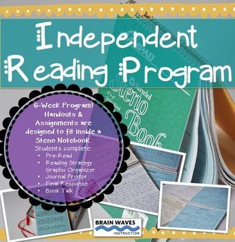 Independent Reading Program:  6-Week Program - Any Book -