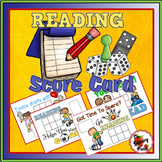 Independent Reading Program - Reading Score Cards