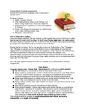 Independent Reading Project Description and Rubric
