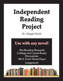Independent Reading Project- For any novel!