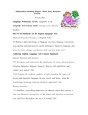 Independent Reading Project - Short Story Response Journal