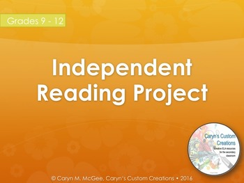Independent Reading Project (World Literature)