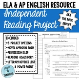 Independent Reading Project - aka The Book Report