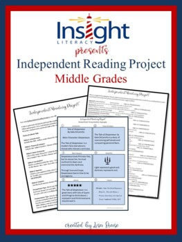 Independent Reading Project and Book Talk [Middle Grades]