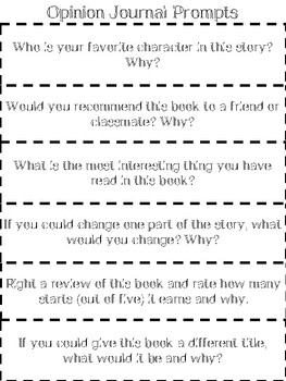 Independent Reading Prompts
