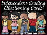 Independent Reading Questioning Cards (Grade 5)