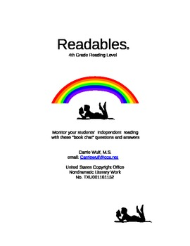Independent Reading Questions and Answers for 55 4th Grade Chapter Books