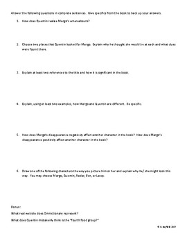 Independent Reading Quiz Project