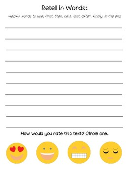 Independent Reading Recording Sheet - Nonfiction