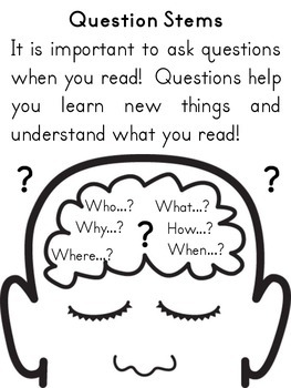 Independent Reading Reflection Log with Questioning and Metacognition
