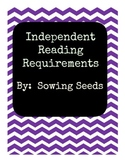 Independent Reading Requirement Log