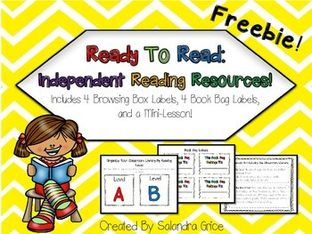 Independent Reading Resources-Freebie