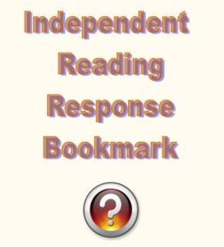 Independent Reading Response Bookmark