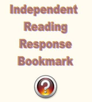 Independent Reading Response Bookmark