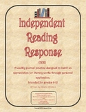 Text Connections: Independent Reading Response (text-to-self)
