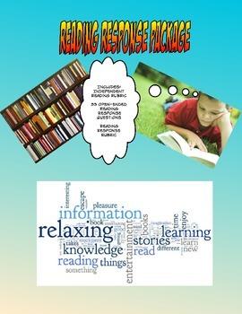 Independent Reading Response Package - Junior/Intermediate