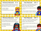 Independent Reading Response Task Cards - Superhero Theme