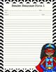 Independent Reading Response Task Cards - Superhero Theme