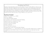 Independent  Reading Rewards Program and Log