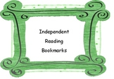 Independent Reading Rubric Bookmarks With Points