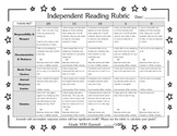 Independent Reading Rubric Journal Response Focused