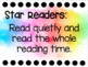 Independent Reading Rules Posters