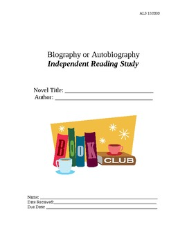 Independent Reading Skills & Strategies Packet - Biography