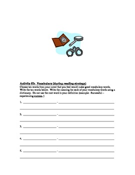 Independent Reading Skills & Strategies Packet - Mystery Genre