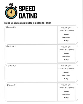 Independent Reading Speed Dating