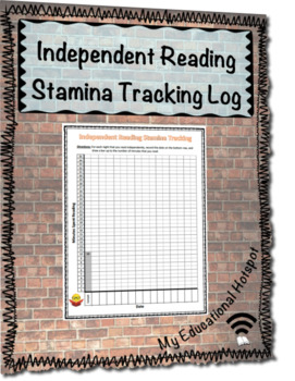Independent Reading Stamina Tracking Form Template