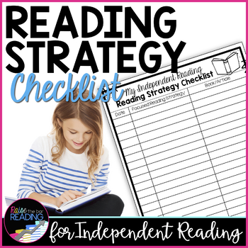 FREE Independent Reading Accountability: Reading Strategy Checklist