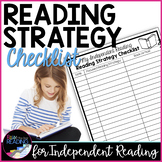 FREE Independent Reading Accountability: Reading Strategy