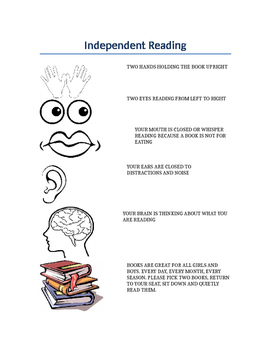 Independent Reading Student Expectations