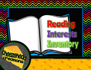 Reading Interests Inventory for Intermediate & Middle School Grades