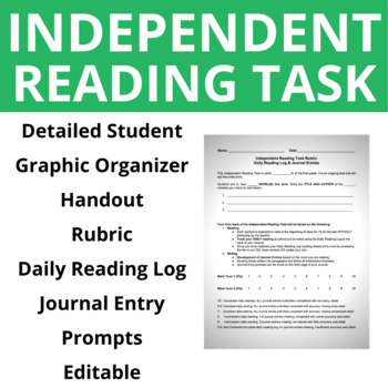 Semester Long Independent Reading Task